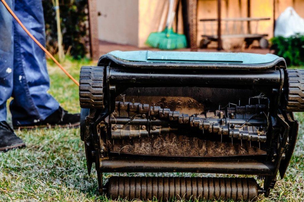 Scarificateur électrique pour jardin